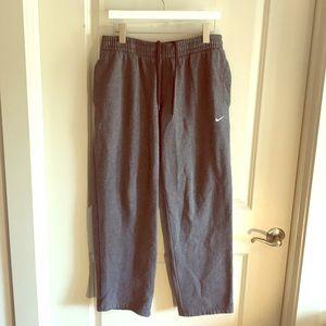 Nike Classic Open Hem FLEECE Pants 341574-071 Men/'s pants size L XL 2XL